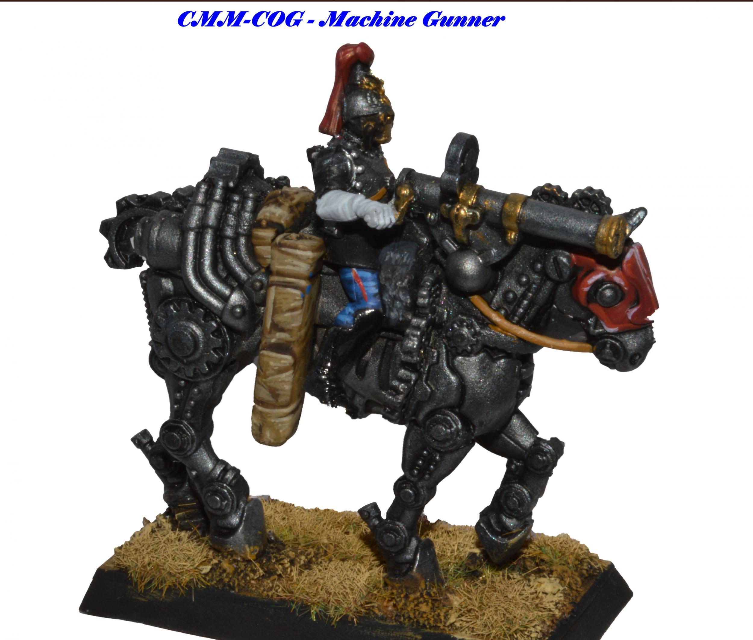 Cog Division Machine Gunner