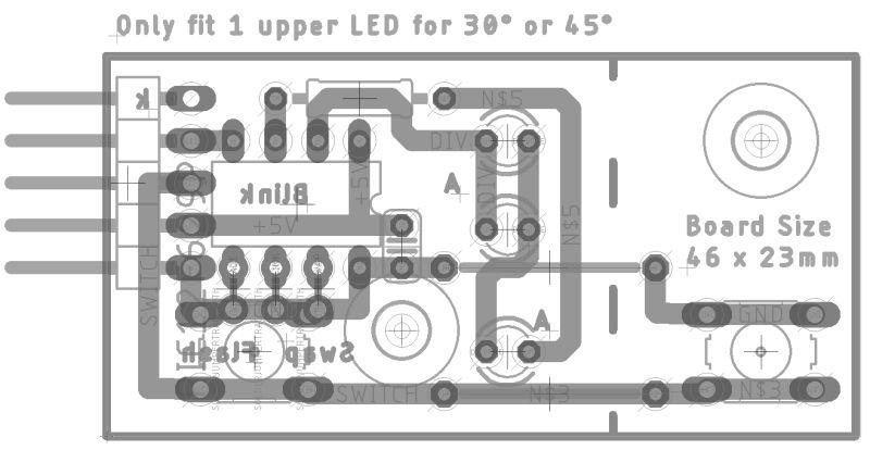 model railway control panel