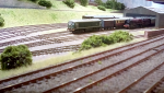 Carriage shed and sidings