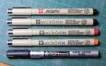 Car detailing pens